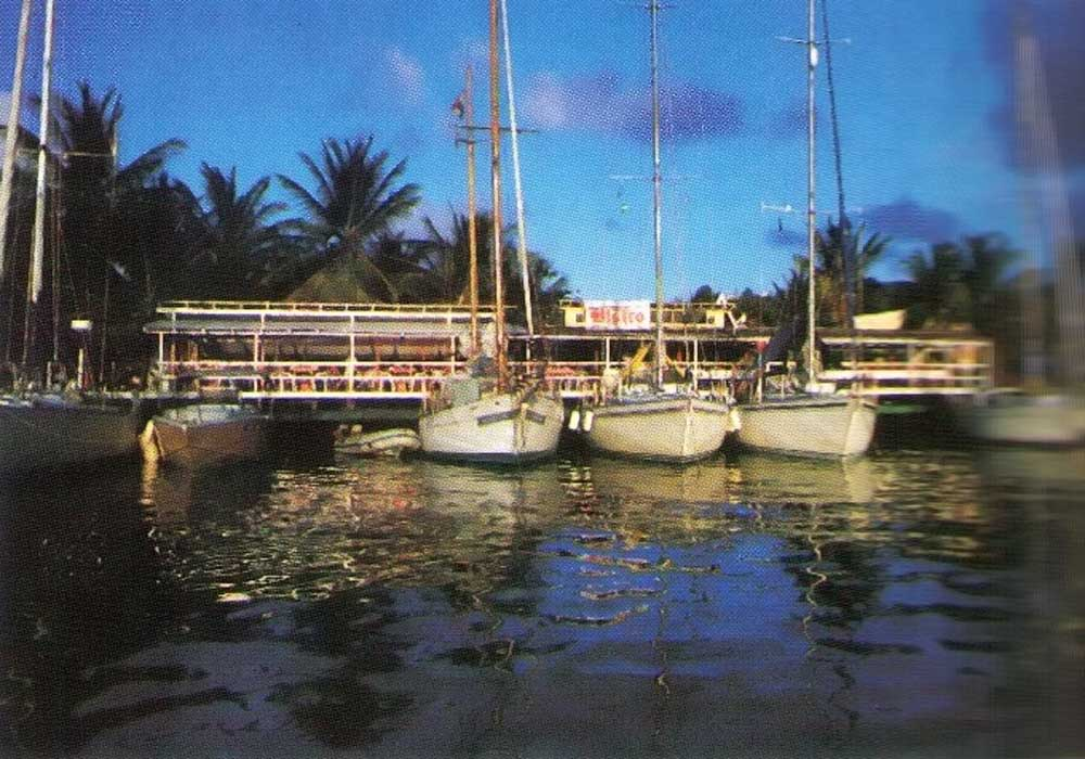 Marina and dining facilities three minutes from Rodney Heights, St Lucia, part of the Rodney Bay resort. Photograph by Rodney Bay