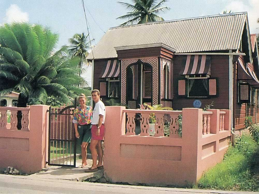 The Chattel House, one of Barbados's most distinctive traditions. Photograph by Eleanor Chandler