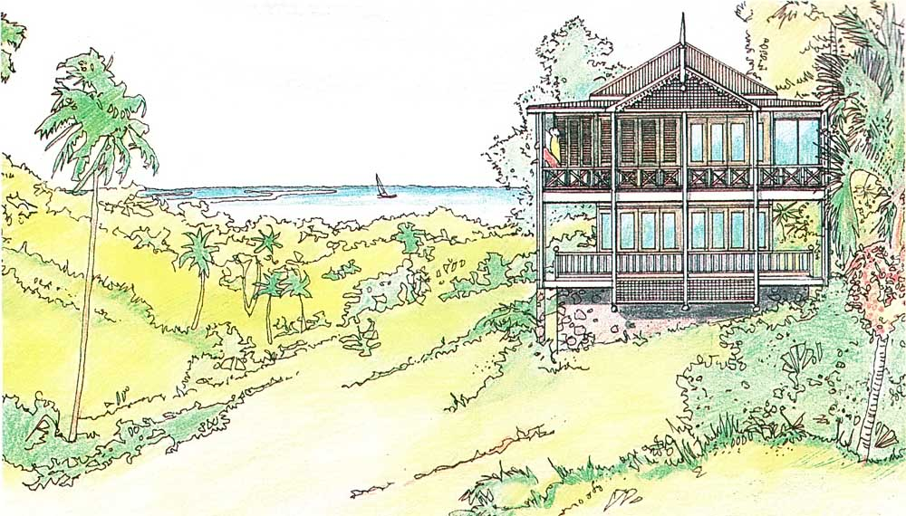 When Sanctuary Resort Development opens on Tobago's west coast, it will offer 35 villas, a full range of sports and services including a bird sanctuary next door