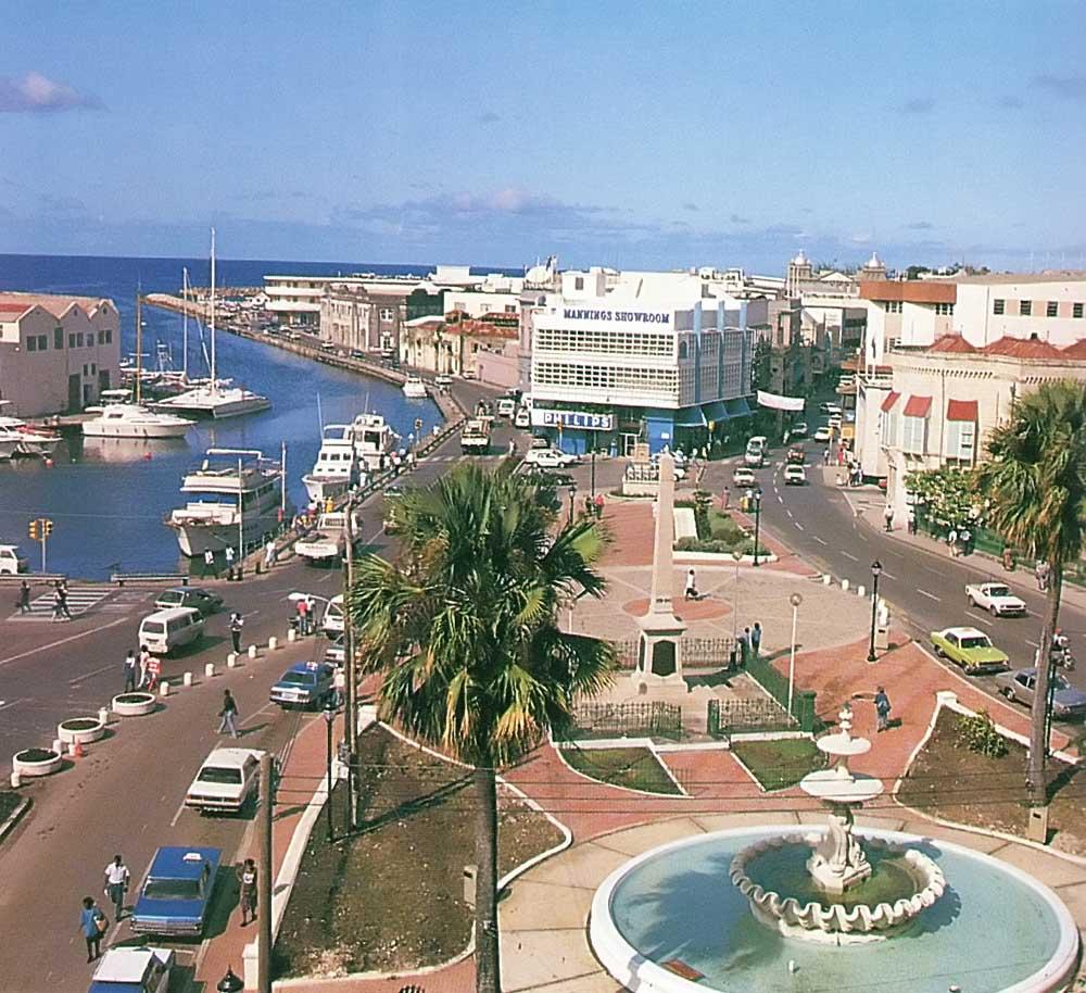 Bridgetown, Barbados's capital. Photograph by Eleanor Chandler