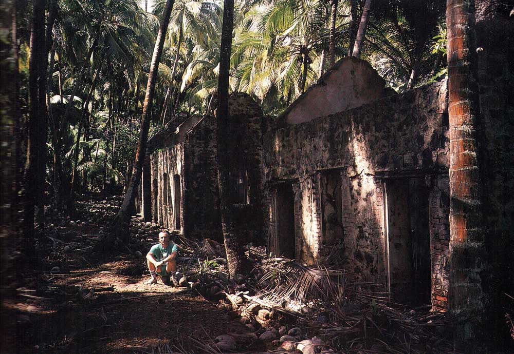 The ruins of the notorious penal colony still haunt the peaceful glades of Devil's Island. Photo by Andrew Davidson