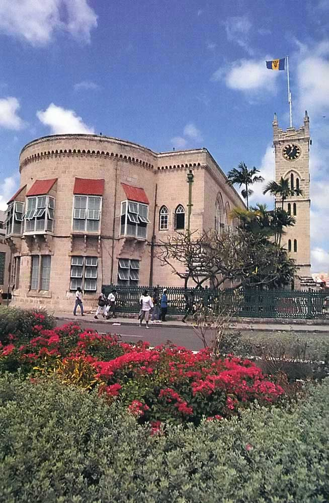 Parliament Buildings in Bridgetown