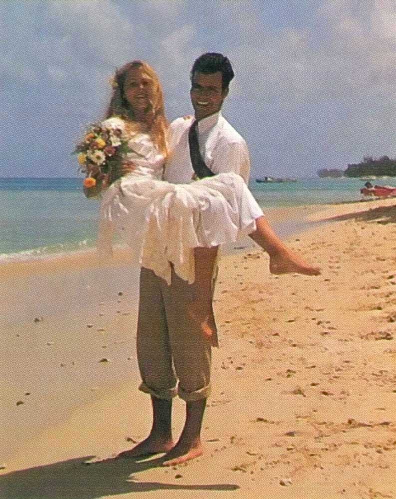 Thinking of getting married? Plenty visitors take advantage of Barbados's wedding packages