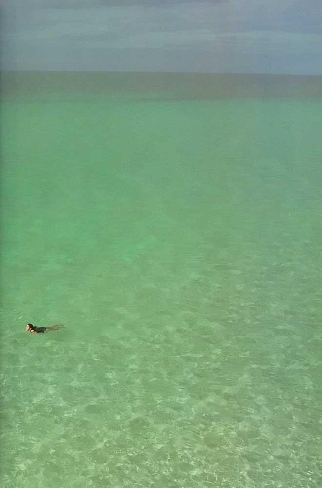 Cuba blue: Varadero. Photograph by Juliet Barclay