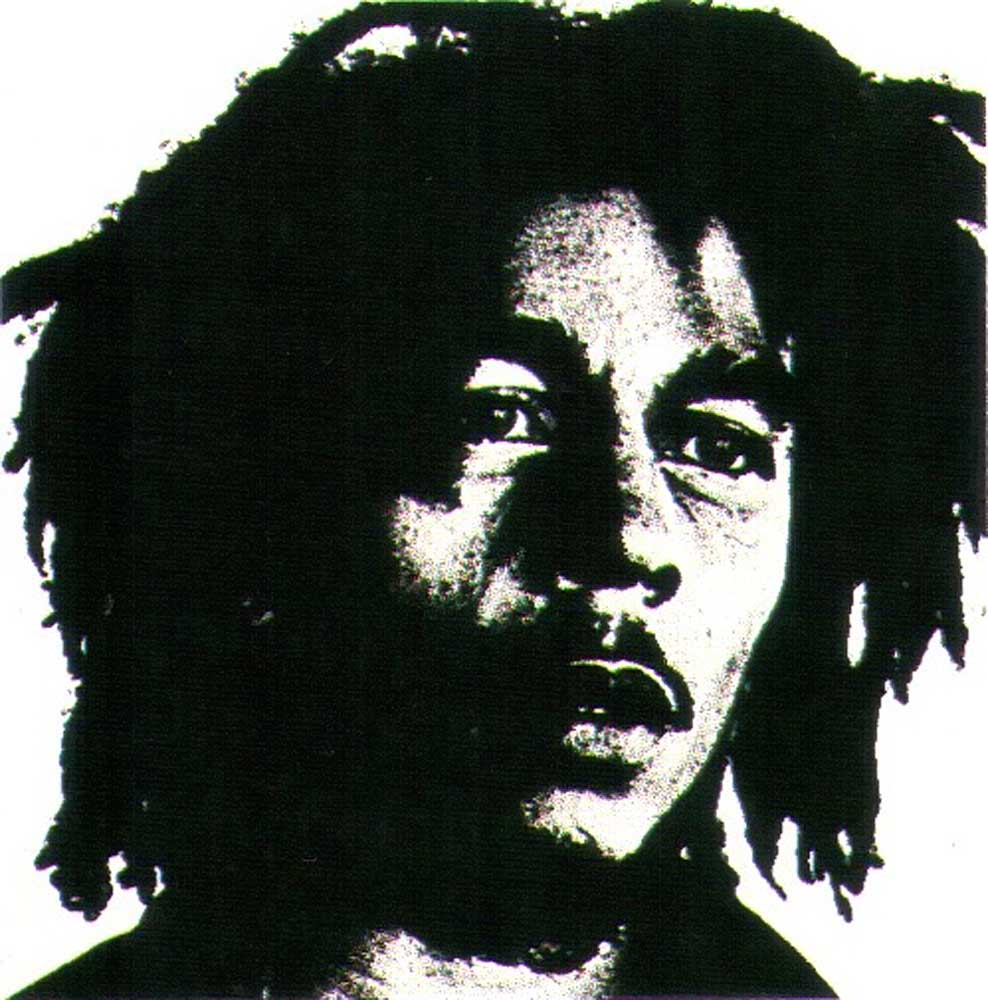 Apostle of reggae: the late great Bob Marley of Island Records. Photograph by Lynn Goldsmith