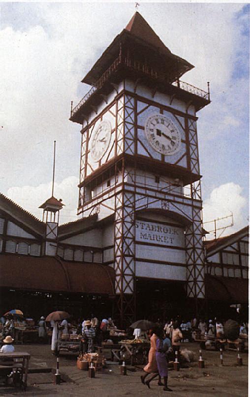 Georgetown's Stabroek Market