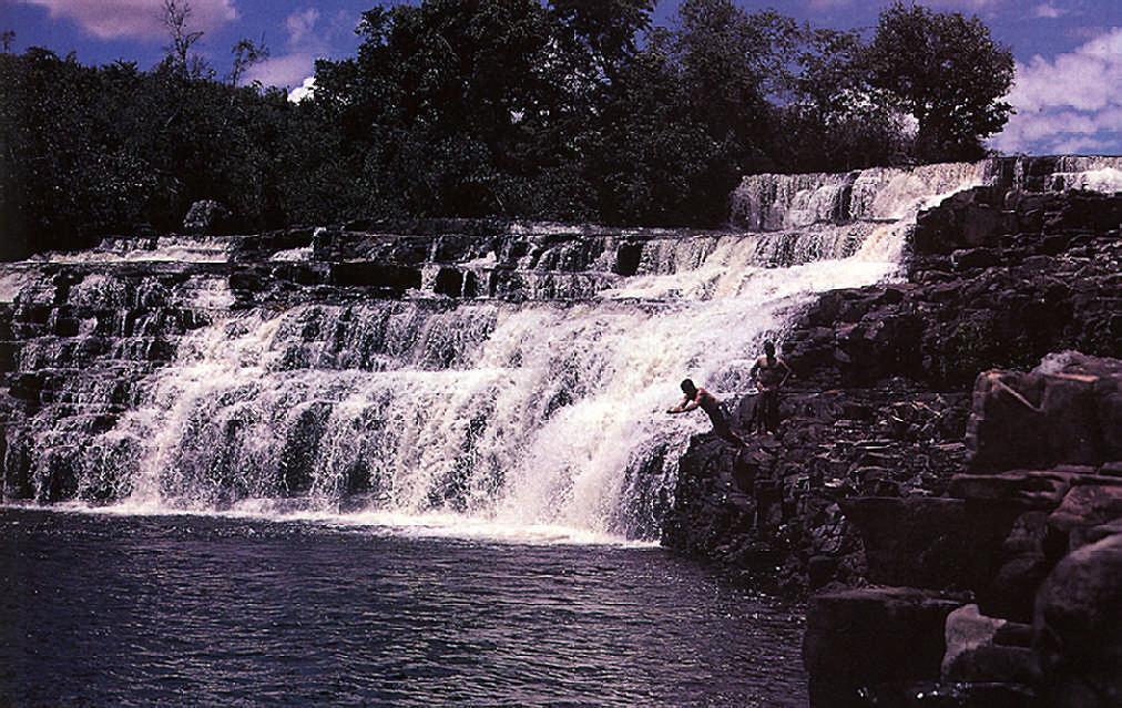 Orinduik Falls, near the Brazilian border