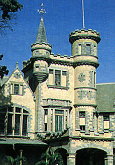 Stollmeyer's Castle, one of the extravagant early 20th-century mansions around the Queen's Park Savannah. Photograph by Farouk Khan