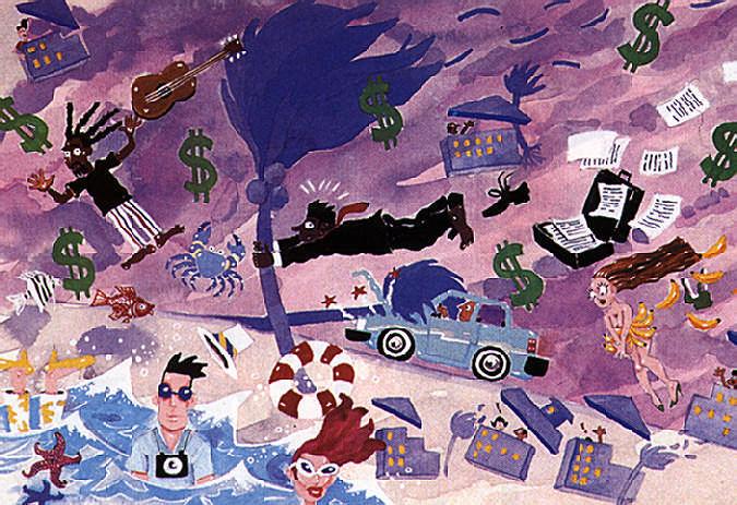 Illustration by Peter Jarrette