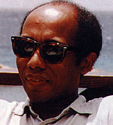 Haitian director Raoul Peck, based in Berlin. Photograph by Bruce Paddington