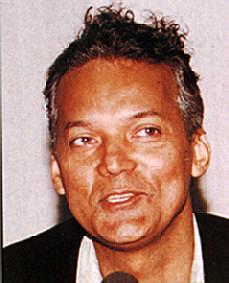 Screenwriter/ Producer- Norman de Palm of Curaçao. Photograph by Bruce Paddington