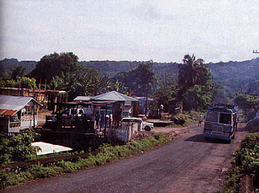 Boston Bay, the Jamaican village which is the true home of jerk cooking. Photograph by Louis Davis