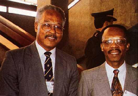 Love is the answer? Haiti's exiled leader Ft Jean Bertrand Aristide with author Eden Shand