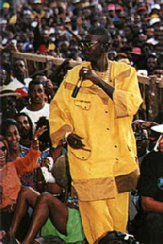 Buju Banton. Photograph by Dreamy Riley