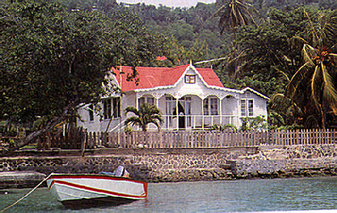 Bequia: if you live by the water, you need a boat. Photograph by Jenny Bailey
