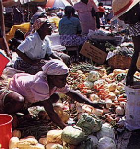 Castries Market. Photograph by Stephanie Colasanti