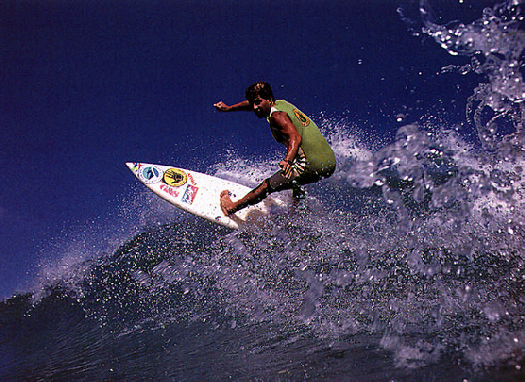 Charlie Kuhn in action in Puerto Rico. Photograph by Dick Meseroll