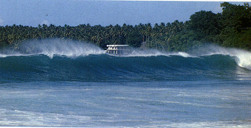 Mount Irvine, Tobago: is there such a thing as a perfect wave? Photograph by Nick Norhangel