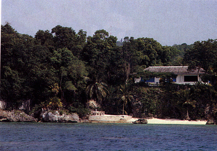 The house where James Bond was born- Ian Fleming's Goldeneye. Photograph by Adrian Boot