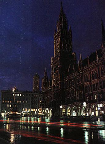 Munich, capital of southern Germany. Photograph by Bob Kist- Black Star