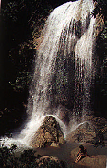 Waterfall at Soroa. Photograph by Juliet Barclay