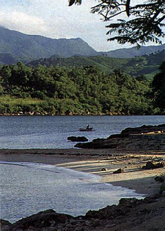 Beach near Trinidad de Cuba. Photograph by Juliet Barclay