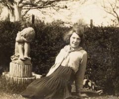 Jean Rhys, circa 1930s. Photograph by the Jean Rhys Papers, University of Tulsa, McFarlin Library, Department of Special Collections