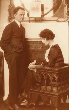 Jean Lenglet and Jean Rhys, circa 1920. Photograph by the Jean Rhys Papers, University of Tulsa, McFarlin Library, Department of Special Collections