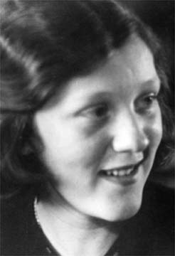 Rhys's daughter Maryvonne. Photograph by the Jean Rhys Papers, University of Tulsa, McFarlin Library, Department of Special Collections