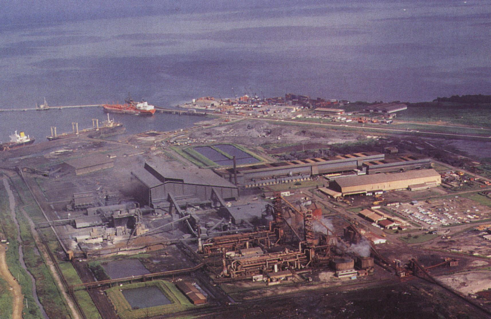 Point Lisas industrial estate, on Trinidad's west coast. Photograph by Mark Lyndersay