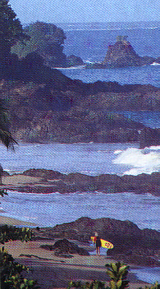 A Tobago pleasure: west coast morning surf. Photograph by Allan Weisbecker