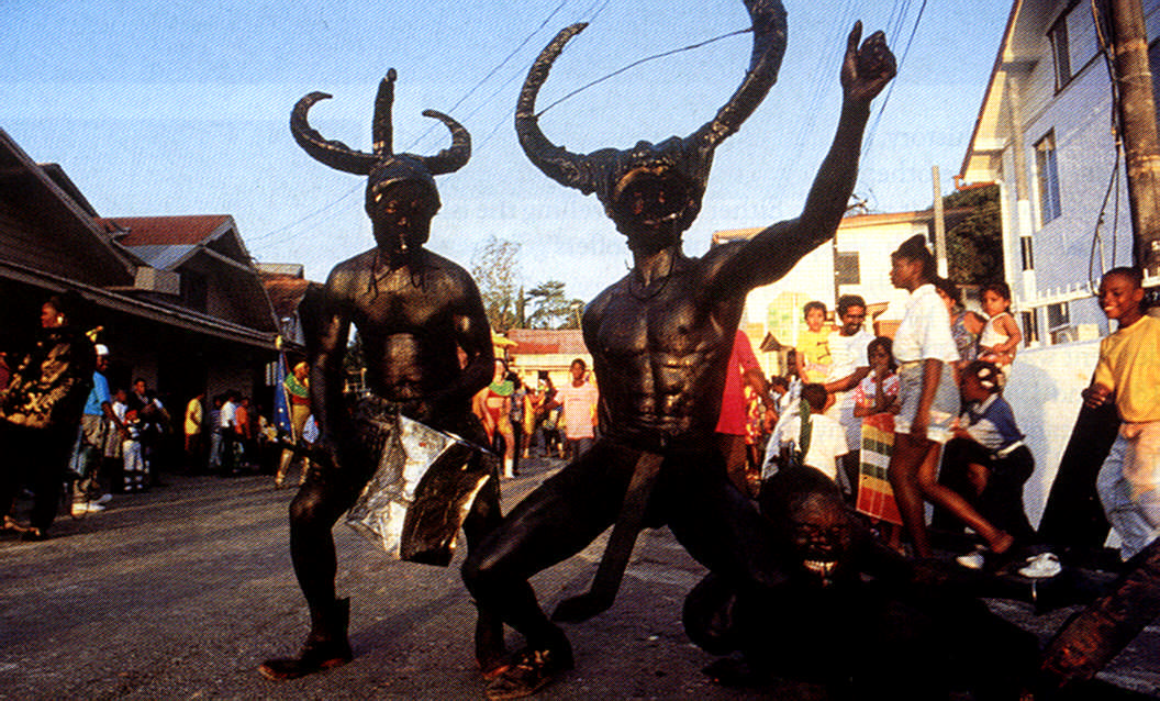Tobago at play (yes,Tobago has its own Carnival). Photograph by Allan Weisbecker