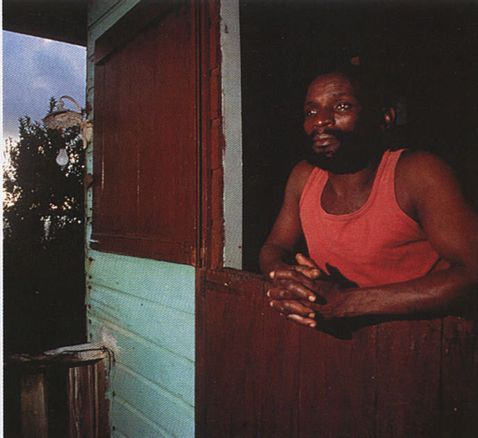 At home in Tobago. Photograph by Allan Weisbecker