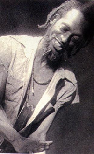 Legendary storyteller: Guyana's Marc Matthews.