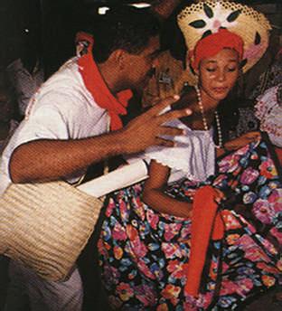Christmas dancing, the Trinidad way. Photograph by Noel Norton