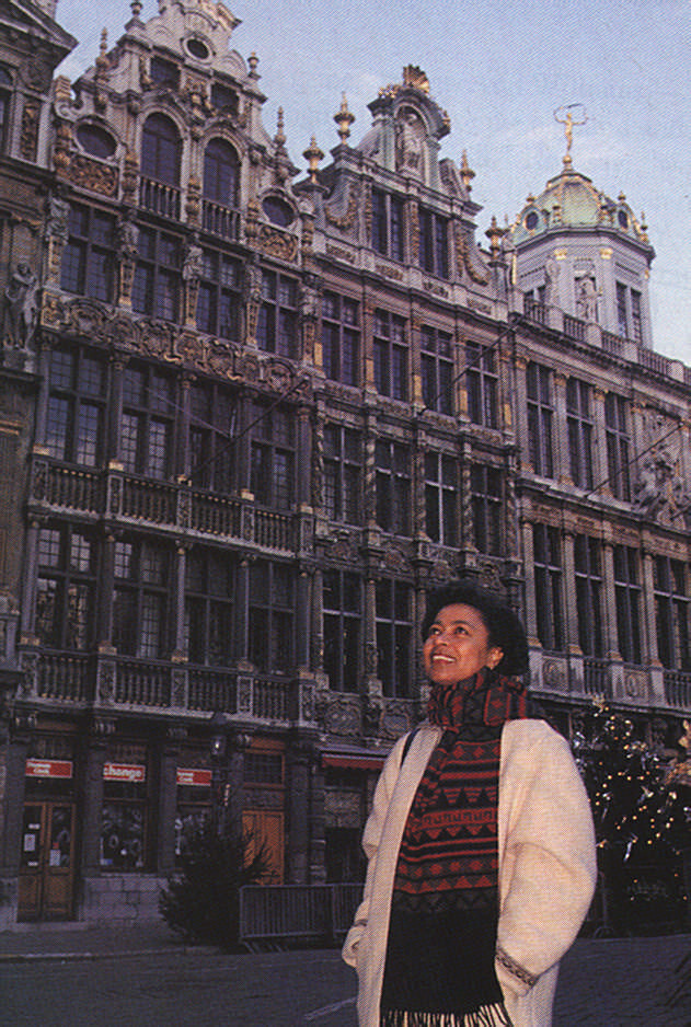 Alecia McKenzie: What is important to your life? Photograph by Jean Guyaux