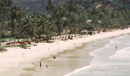 M is for Maracas Bay. Photograph by Mark Lyndersay
