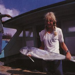 Researching flying fish numbers off Dominica: Dr. Hazel Oxenford