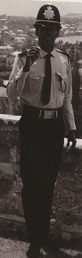 P. C. Mac Fingall on duty in Bermuda