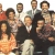 The cast of Desmond's. Photograph by Humphrey Barclay Productions for Channel 4