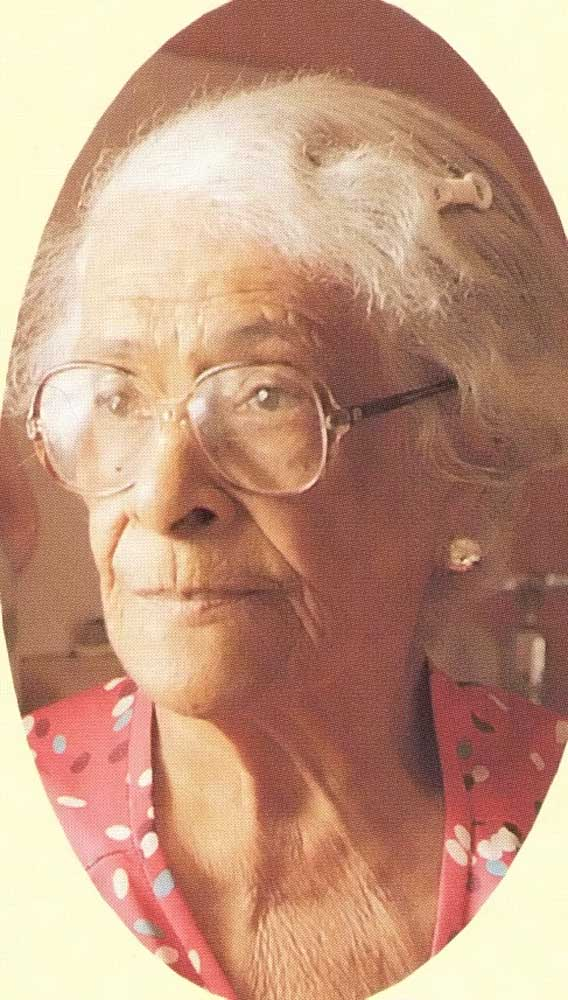 Walcott's mother Alix. Photograph by Bruce Paddington