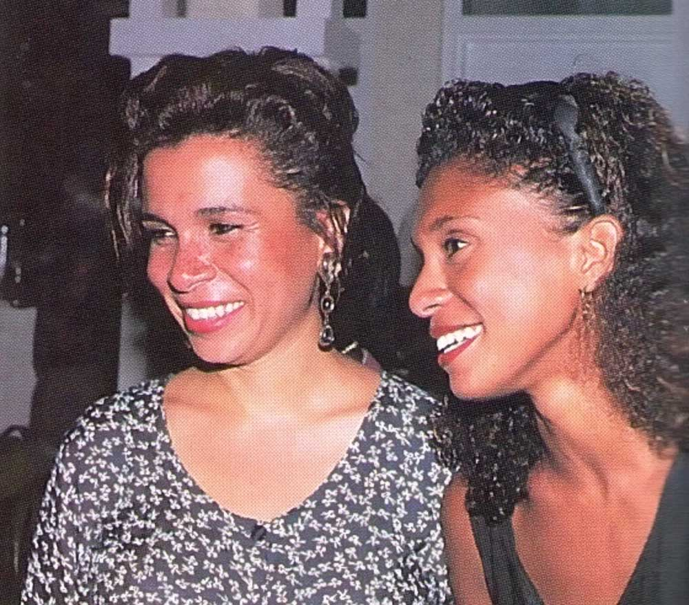 Walcott's daughters Anns and Elizabeth. Photograph by Chris Huxley