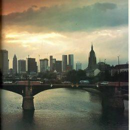 Frankfurt skyline. Photograph by Photographers' Library