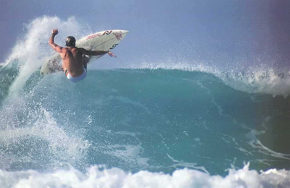 Bob Rohmann at Glitter Bay, Barbados. Photograph by Dick Meseroll