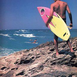 Ready for the plunge: Jobos Beach, Puerto Rico. Photograph Darrell Jones