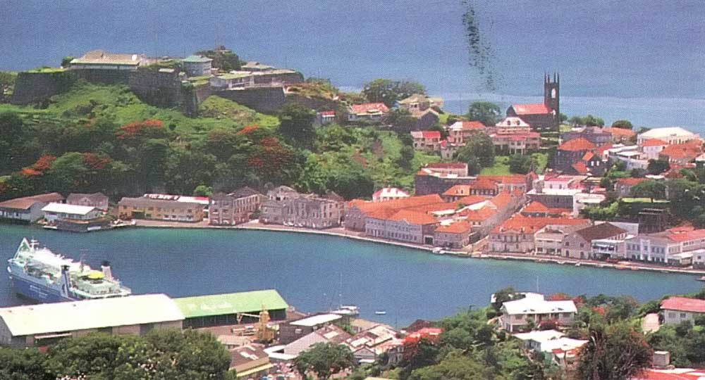 Fort George, the oldest structure in Grenada. Photograph by Chris Huxley