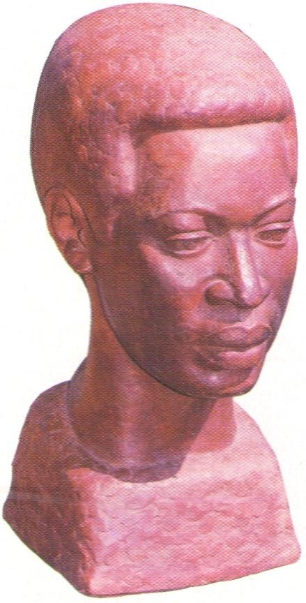 Karl Broodhager: Hartley (1975, National Art Collection, Barbados Gallery of Art). Photograph courtesy Norma Talma
