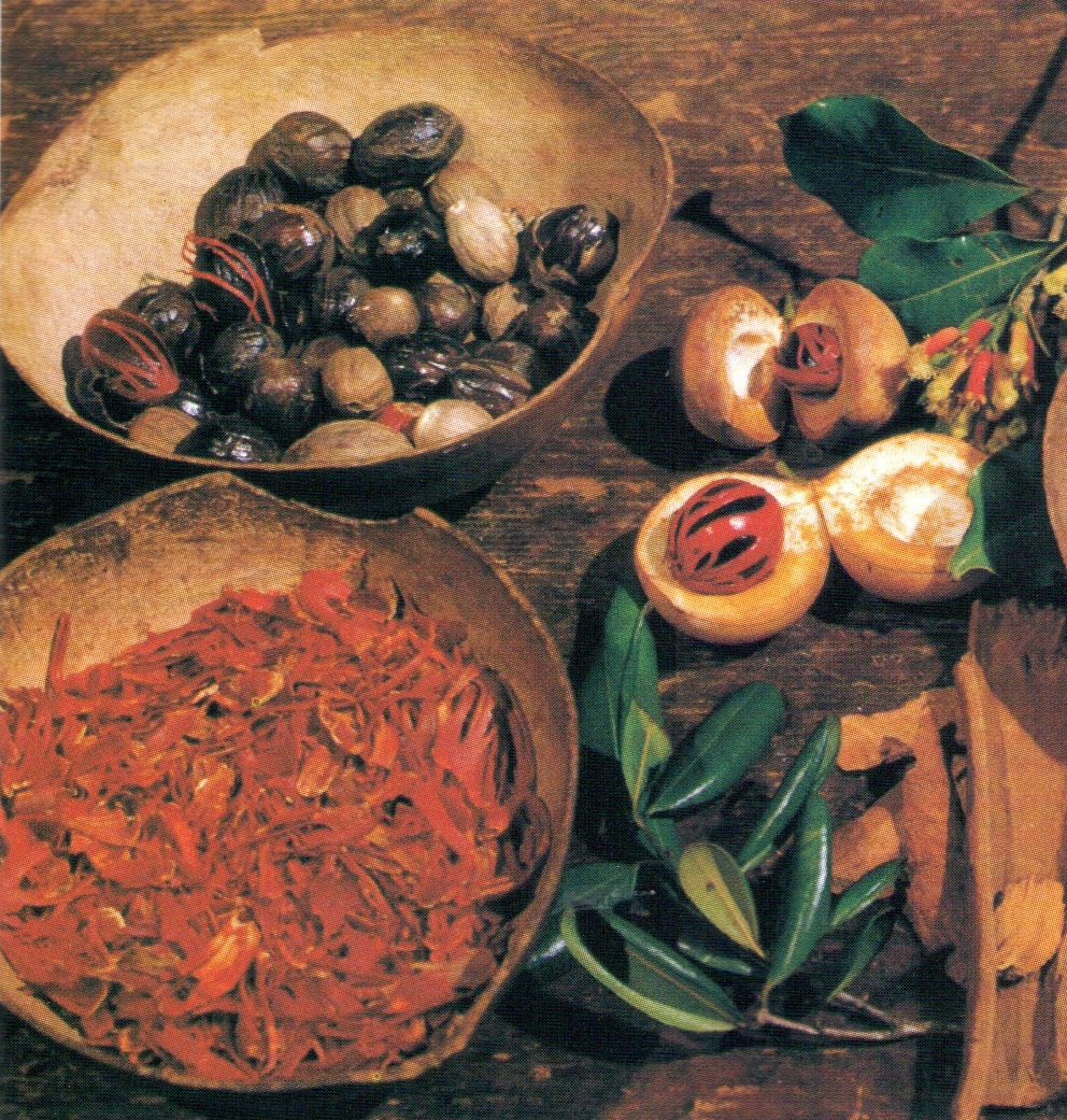 Grenada spices. Photograph by Edward Barrow