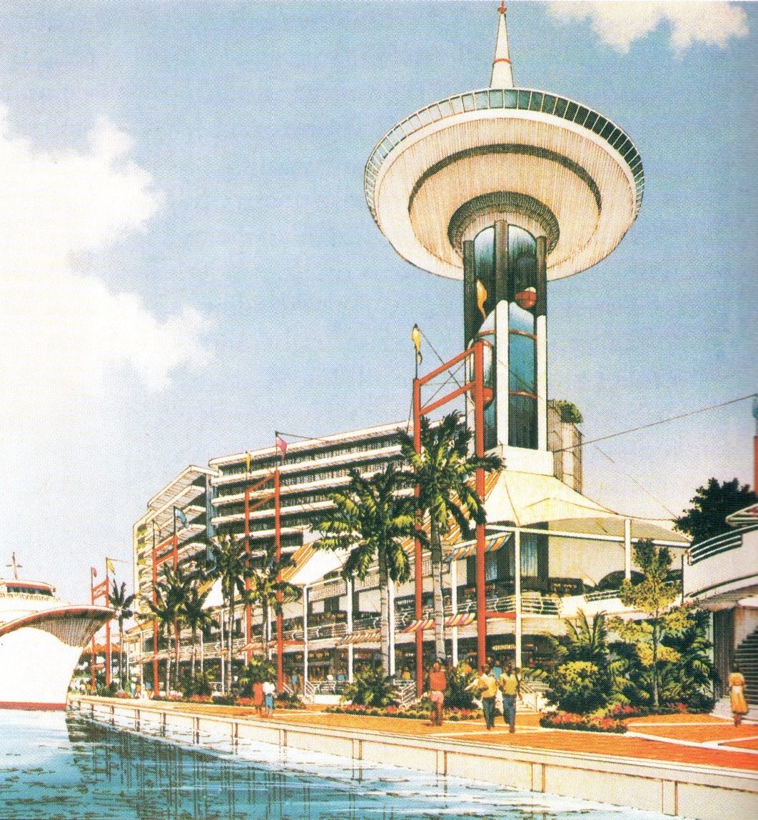A new look for the Por of Spain waterfront. Photograph courtesy Urban Development Corporation