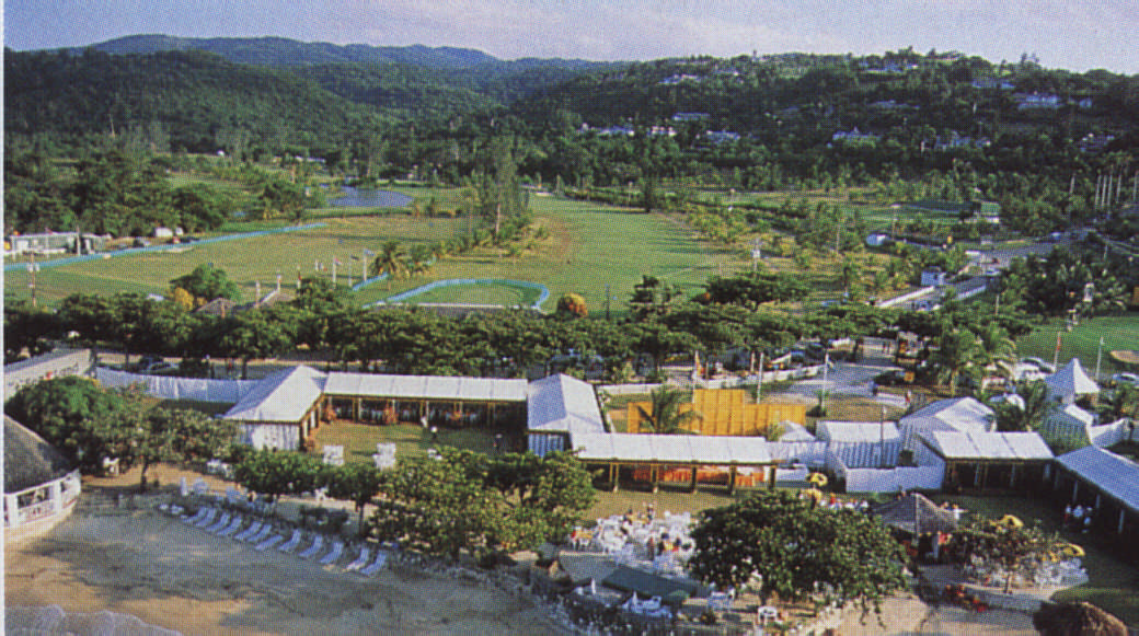 The Tryall Club is near Montego Bay on Jamaica's specular north coast. Photograph by David Rogers/ All Sport